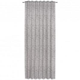 Esposa HOTOVÝ ZÁVĚS, neprůsvitné, 140/245 cm - barvy stříbra, šedohnědá