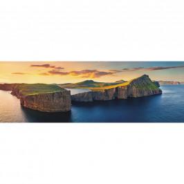 OBRAZ NA PLÁTNĚ, pláž & moře, 180/60 cm - vícebarevná