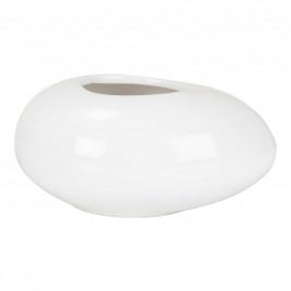 OBAL NA KVĚTINÁČ, keramika - bílá