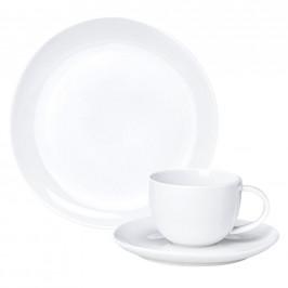 Ritzenhoff Breker KÁVOVÝ SERVIS, 18dílné, porcelán - bílá