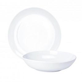 Ritzenhoff Breker SERVIS JÍDELNÍ, 12dílné, porcelán - bílá