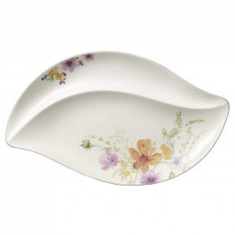 Villeroy & Boch SERVÍROVACÍ PODNOS, keramika, 50/30 cm - vícebarevná, bílá