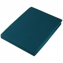 Estella PROSTĚRADLO NAPÍNACÍ, nit - žerzej, tmavě zelená, 200/200 cm - tmavě zelená