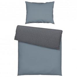 Esprit POVLEČENÍ, renforcé, antracitová, šedá, černá, bílá, 140/200 cm - antracitová, šedá, černá, bílá