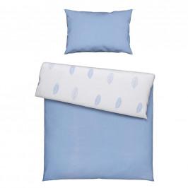 Avelia POVLEČENÍ PRO MIMINKO, 100/135 cm, modrá, bílá