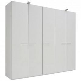 Xora SKŘÍŇ S OTOČNÝMI DVEŘMI, bílá, 251/223/60 cm - bílá