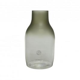 VÁZA, sklo, 35 cm - zelená, čiré