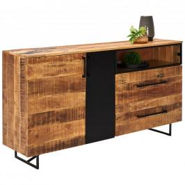 Ambia Home PŘÍBORNÍK/KOMODA, mangové dřevo, 160/84/37 cm