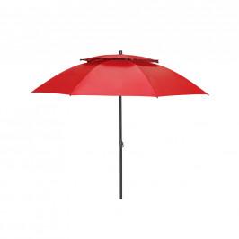SLUNEČNÍK, vzpěrný kloub, odpuzuje déšť, 200 cm - červená