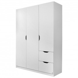 Boxxx SKŘÍŇ S OTOČNÝMI DVEŘMI, bílá, 136/197/54 cm - bílá