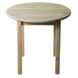 Eoshop Stůl kruhový Nr.3 - průměr 90 cm ořech