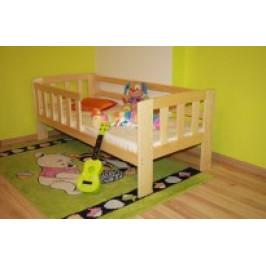 Maxi-Drew Maxi Drew Dětská postel Agatka 70x160 cm s roštem dub