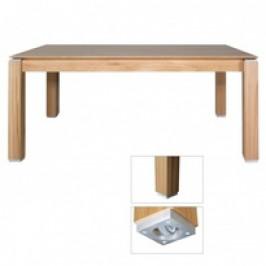 Drewmax Jídelní rozkládací stůl ST380 S180 masivní dub olše