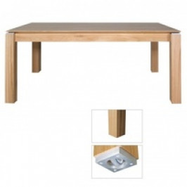 Drewmax Jídelní stůl ST381 S160 masivní dub dub přírodní