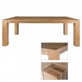 Drewmax Jídelní stůl ST390 S160 masivní dub cherry