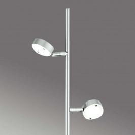 Minimalistická stojací lampa LED SATURN, 2zdrojová