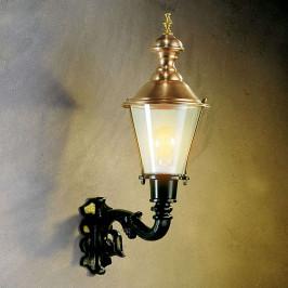 Klasické venkovní nástěnné svítidlo Hoorn, nahoru