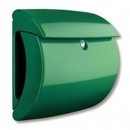 Poštovní schránka Kiel z plastu, zelená