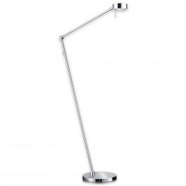 Tenká stojací lampa LED Elegance 3 klouby