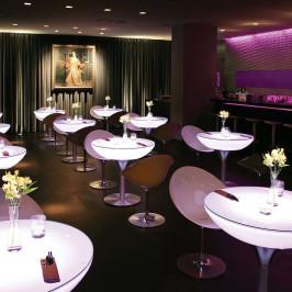 Svítící stůl Lounge Table LED Pro Accu