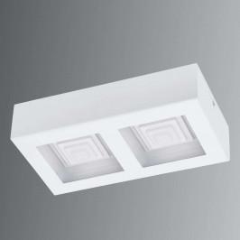 Ferreros - dvoužárovkové LED stropní svítidlo bílé