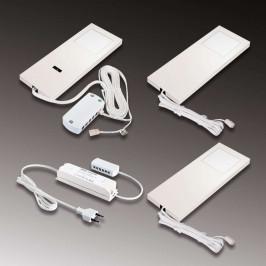 Komfortní osvětlení linky LED Slim-Pad F bílé