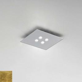 ICONE Slim čtvercové LED stropní svítidlo, 4zdr