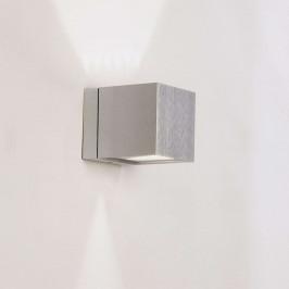 Milan Dau - nástěnné světlo krychle up-down hliník