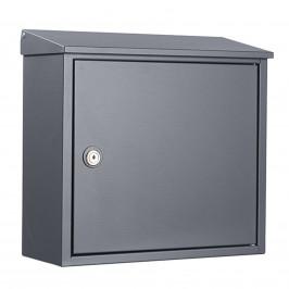 Nástěnná poštovní schránka Allux 400AN, antracit