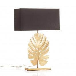 Designová stolní lampa Lizia zlatočerná