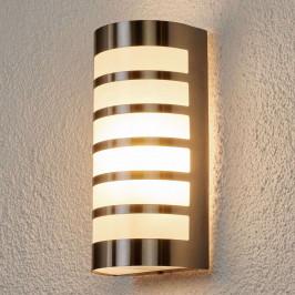 Venkovní nástěnné svítidlo z nerezu, 5 vzpěr
