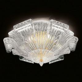 Stropní světlo sklo Murano Tartaruga, 80 cm