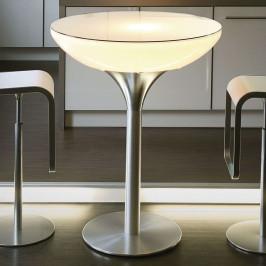 Svítící stůl Lounge Table LED Pro Accu H 105 cm