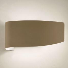 Dekorativní nástěnné světlo Virgola, jíl