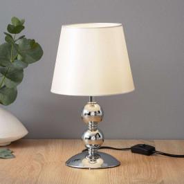 Chromovaná stolní lampa Bea