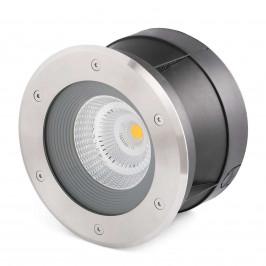 Suria-24 - kulaté LED svítidlo do země, 24°