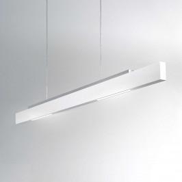 ICONE Tratto bílé závěsné světlo LED dvoustranné