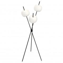 Kundalini Kushi - moderní stojací lampa LED černá
