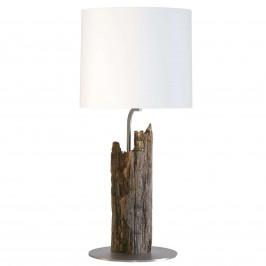 HerzBlut Starý kavalír stolová lampa plotové dřevo