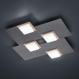 BANKAMP Quadro stropní LED svítidlo, 32 W antracit