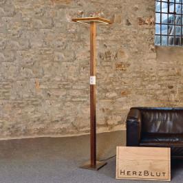 HerzBlut Otto O stojací lampa Up & Down ořech olej