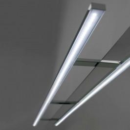 Dlouhé LED svítidlo nad zrcadlo Esther, 100 cm