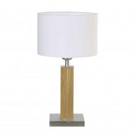 HerzBlut Dana stolní lampa s dřevěnou nohou dub