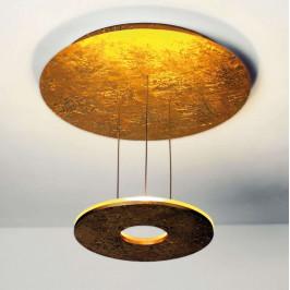 Bopp Saturn - zlaté LED stropní svítidlo