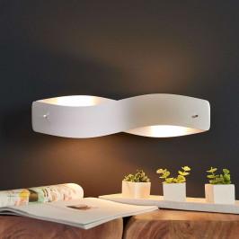 LED nástěnné světlo Lian - hliník matný