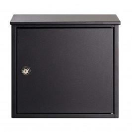 Nástěnná poštovní schránka Allux 400S, černá