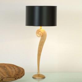 J. Holländer Stolní lampa Lorgolioso zlatočerná
