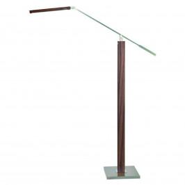 HerzBlut Otto O LED stojací lampa na čtení ořech
