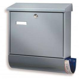 Oblíbená poštovní schránka Set Vario, stříbrná
