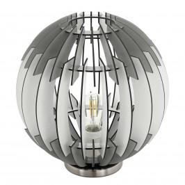 Olmero - trendy stolní lampa s lamelovým stínidlem